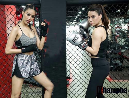 """2 kiều nữ Việt Nam """"hạ knock-out"""" huyền thoại UFC - 9"""