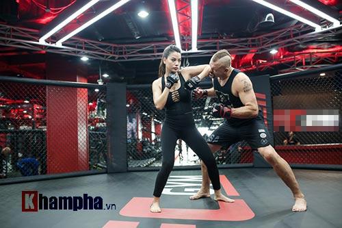 """2 kiều nữ Việt Nam """"hạ knock-out"""" huyền thoại UFC - 1"""