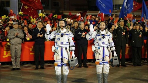 Trung Quốc đưa người lên Thiên Cung 2 - 2
