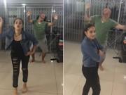 """Video Clip Cười - Clip hài: Hài hước ông bố """"phá"""" video của con gái"""