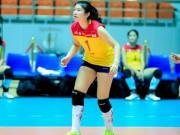 """Thể thao - VTV cup: Mỹ nữ bóng chuyền """"choáng"""" vì 1 vạn khán giả"""