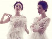 Thời trang - Angela Phương Trinh căng tràn với đầm ren xuyên thấu