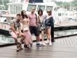Văn Anh - Tú Vi cùng đoàn phim khám phá Singapore