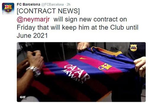 Barca: Neymar lương sau Messi, giá lên 250 triệu euro - 2