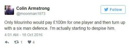 Cộng đồng mạng: Mourinho tiêu hơn 100 triệu bảng để phòng ngự - 3