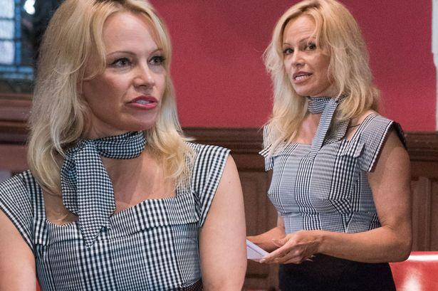 """""""Bom sex"""" Pamela thuyết giảng về phim người lớn - 2"""