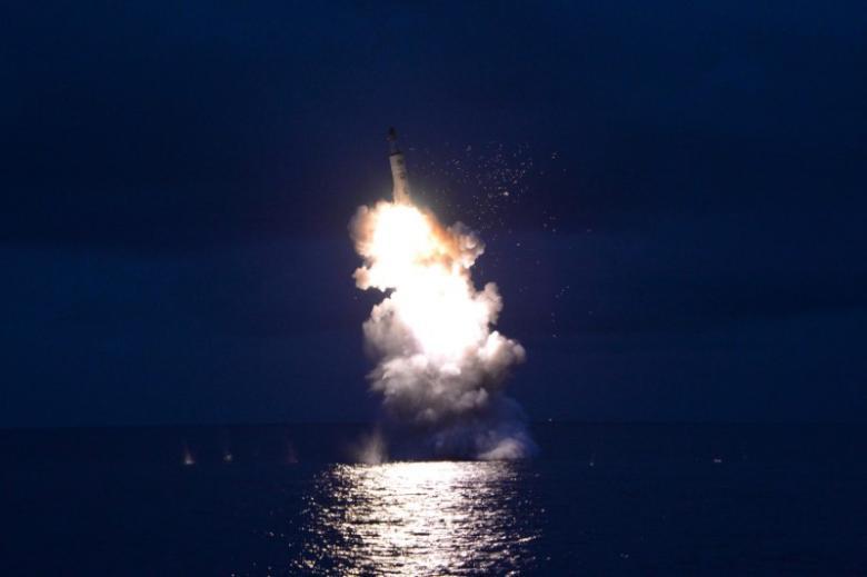 Điều bất thường từ vụ Triều Tiên thử tên lửa thất bại - 1
