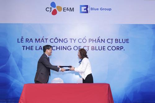 Hai 'ông lớn' truyền thông Việt - Hàn hợp tác ra mắt CJ Blue - 2
