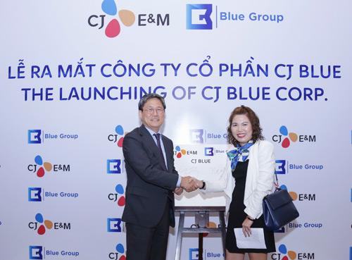 Hai 'ông lớn' truyền thông Việt - Hàn hợp tác ra mắt CJ Blue - 5