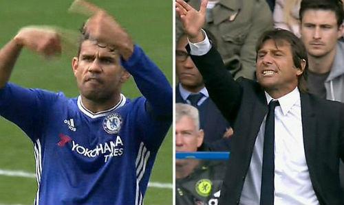 """Thái độ với Conte, Costa bị Chelsea """"cấm khẩu"""" - 1"""