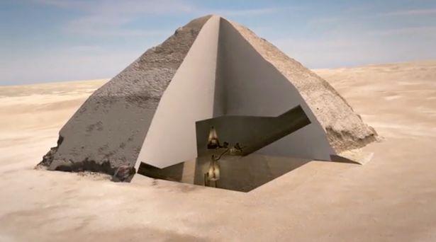 Phát hiện 2 hầm bí ẩn trong kim tự tháp Ai Cập - 2