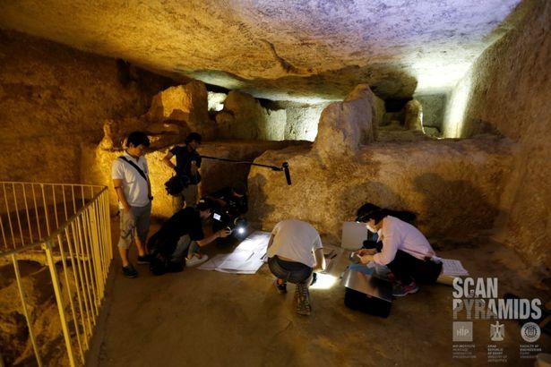 Phát hiện 2 hầm bí ẩn trong kim tự tháp Ai Cập - 3