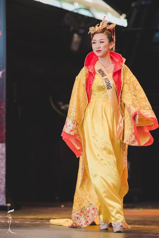 Sốc với Hoa hậu Trung Quốc mặt già nhăn - 3