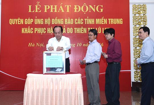 Thủ tướng, Phó Thủ tướng quyên góp ủng hộ đồng bào miền Trung - 2