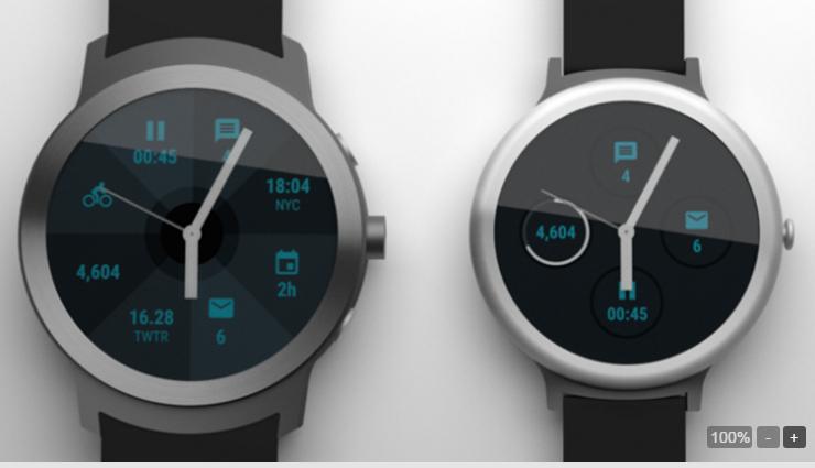 Google sẽ phát hành 2 smartwatch vào đầu năm 2017 - 2