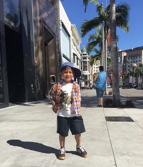 Cuộc sống sang chảnh của con trai Ngô Kiến Huy tại Mỹ - 9