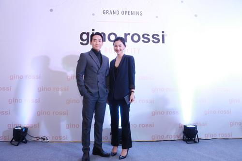 Hứa Vĩ Văn sánh đôi cùng Helly Tống đến khai trương Gino Rossi - 1