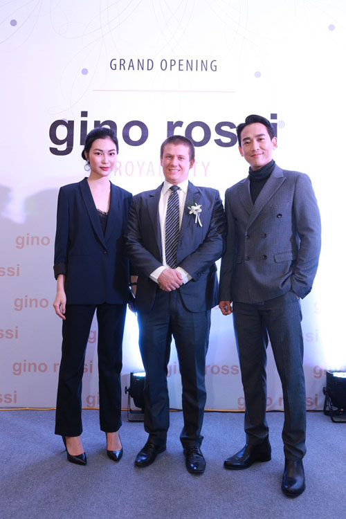 Hứa Vĩ Văn sánh đôi cùng Helly Tống đến khai trương Gino Rossi - 5