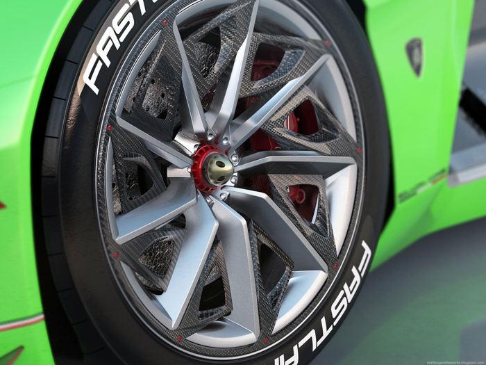 """""""Ngẩn ngơ"""" trước Lamborghini Spectro bản đua không người lái - 3"""