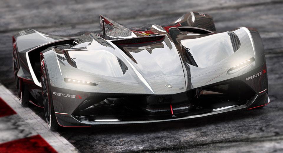 """""""Ngẩn ngơ"""" trước Lamborghini Spectro bản đua không người lái - 1"""