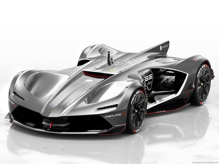 """""""Ngẩn ngơ"""" trước Lamborghini Spectro bản đua không người lái - 2"""