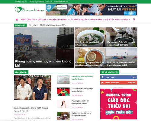 Chuyên trang Phụ Nữ Sức khỏe chính thức ra mắt độc giả - 1