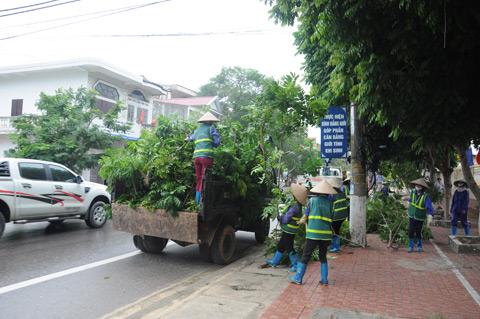 Quảng Ninh-Hải Phòng cấm biển, căng mình ứng phó bão số 7 - 3