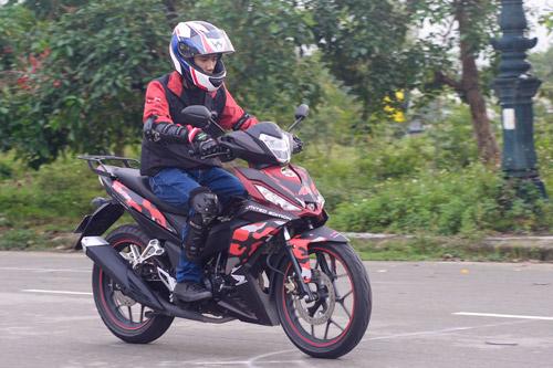 Honda WINNER 150 tiếp tục gây ấn tượng chinh phục cực Đông - 2