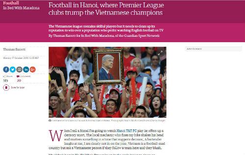Báo Anh phơi bày mảng tối của bóng đá Việt Nam - 1