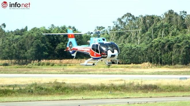Đã xác định được tọa độ và mảnh vỡ trực thăng EC-130 - 7