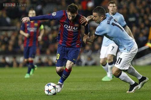 Man City gặp Barca: Cố nhân phục hận - 1