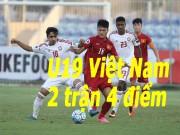Bóng đá - U19 Việt Nam – U19 UAE: Những chiến binh quả cảm