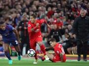 Hòa Liverpool, MU – Mourinho tệ nhất sau cả thập kỷ