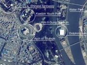 """Thế giới - Hình ảnh """"độc"""" về thủ đô Triều Tiên nhìn từ vũ trụ"""
