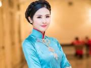 Hoa hậu Ngọc Hân vượt lũ đến với người dân miền Trung