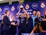 """Bóng đá - Nhà vô địch FC Thành Đồng hồi hộp chờ """"giờ G"""" đến Real Madrid"""