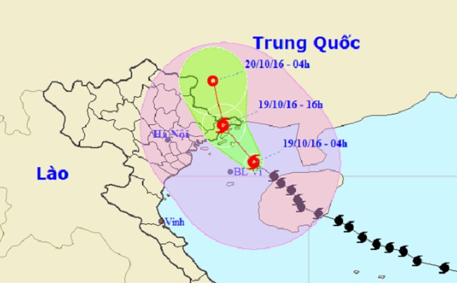 Chiều nay, bão số 7 đổ bộ Quảng Ninh - 1