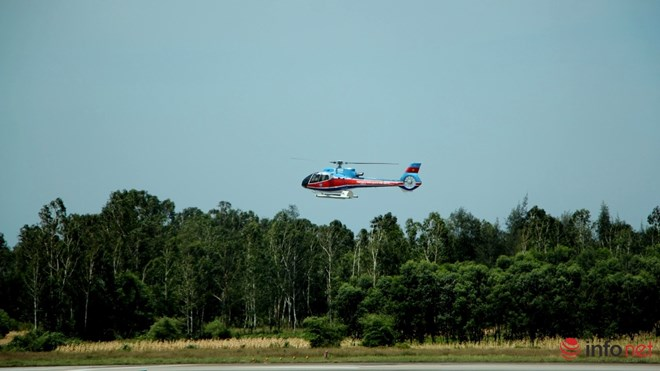 Hình ảnh chiếc trực thăng EC-130 trước khi bị nạn - 1