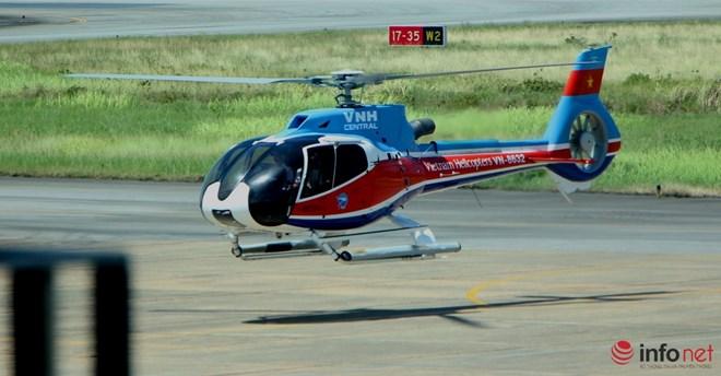 Hình ảnh chiếc trực thăng EC-130 trước khi bị nạn - 2