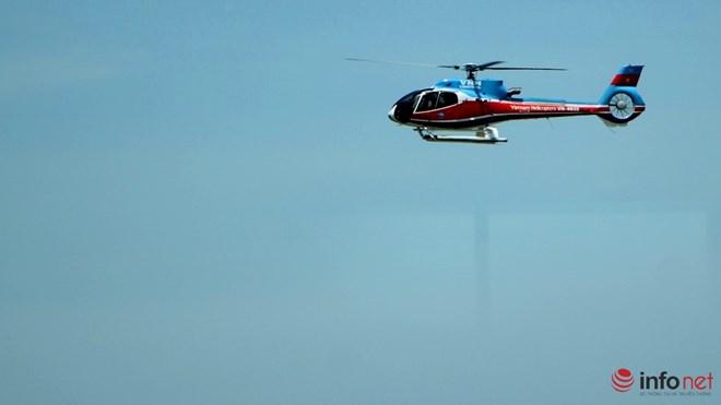 Hình ảnh chiếc trực thăng EC-130 trước khi bị nạn - 3