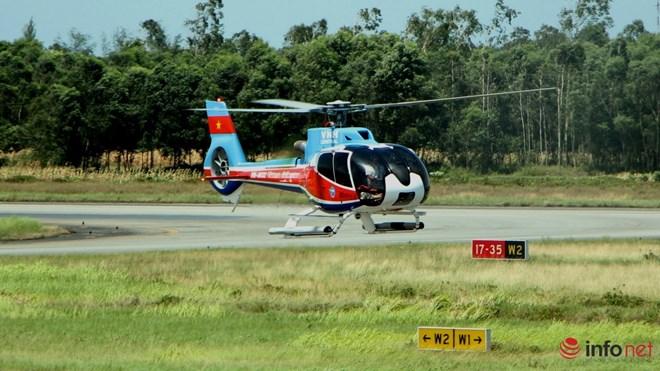 Hình ảnh chiếc trực thăng EC-130 trước khi bị nạn - 7