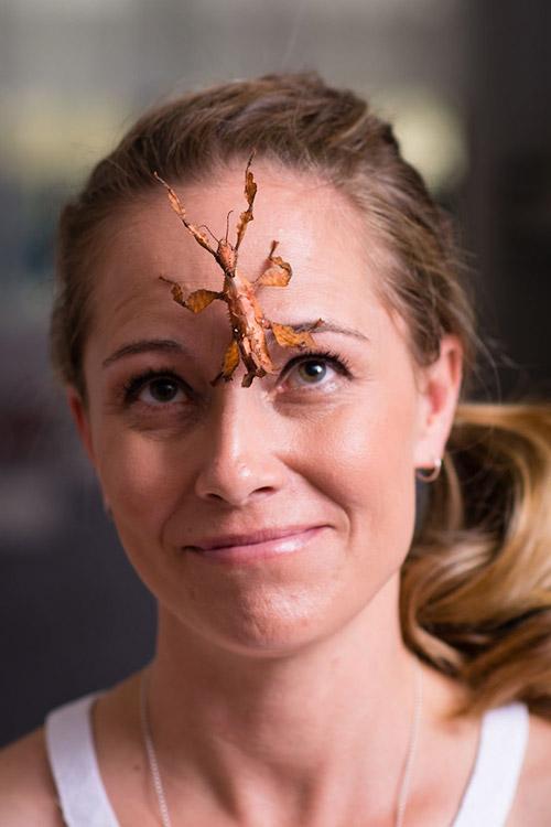 Cô gái Mỹ có sở thích chơi đùa và nuôi nhện độc - 5