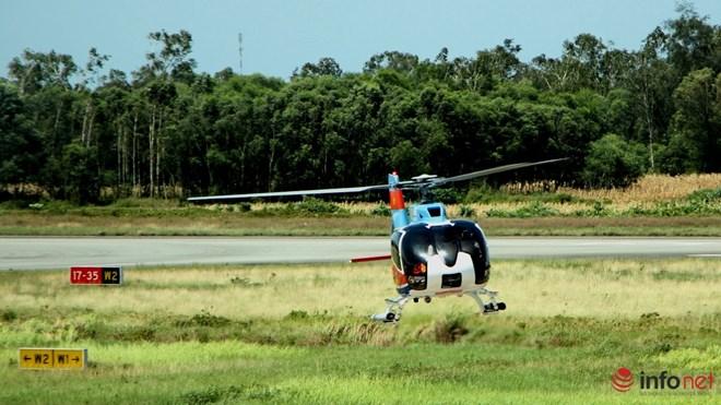 Hình ảnh chiếc trực thăng EC-130 trước khi bị nạn - 8