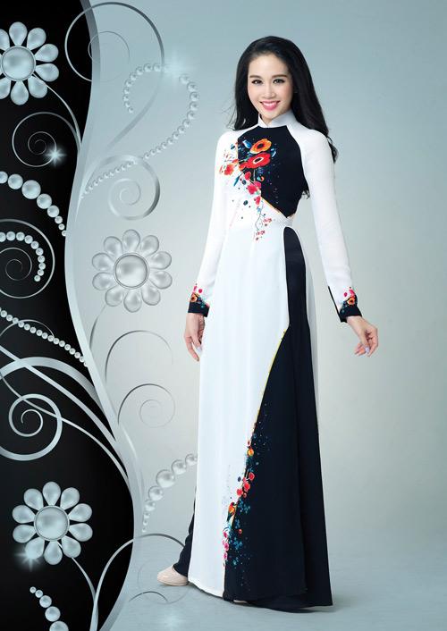 Ấn tượng với thiết kế áo dài lấy cảm hứng từ đá quý - 4