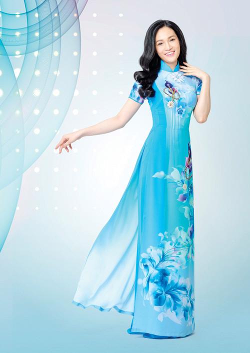 Ấn tượng với thiết kế áo dài lấy cảm hứng từ đá quý - 5