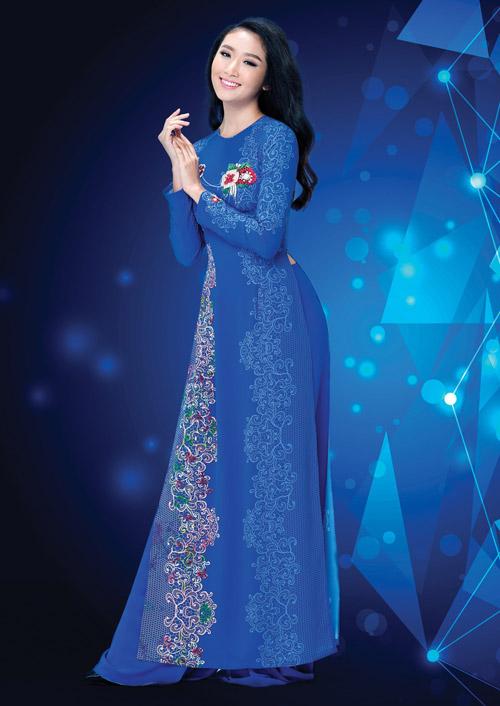 Ấn tượng với thiết kế áo dài lấy cảm hứng từ đá quý - 7