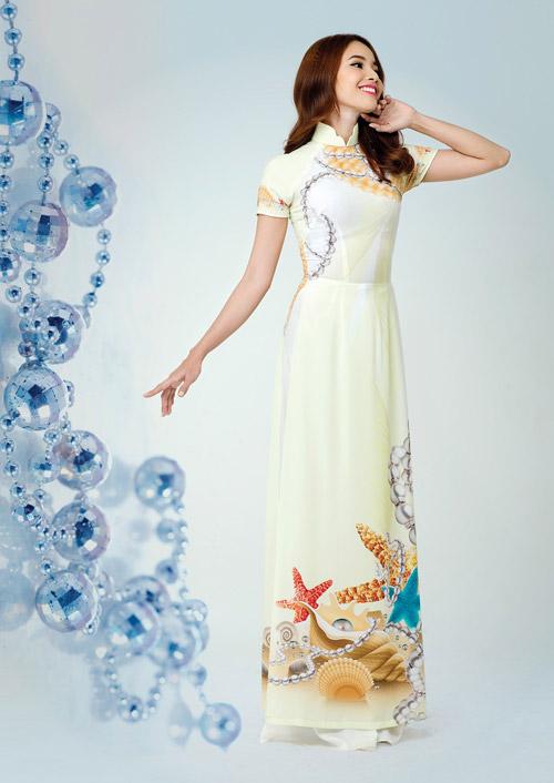 Ấn tượng với thiết kế áo dài lấy cảm hứng từ đá quý - 8