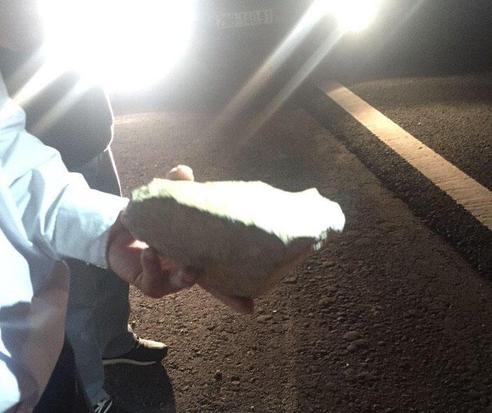 Xe khách bất ngờ bị ném đá trên cao tốc Hà Nội- Hải Phòng - 2