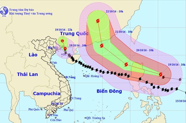 Bão số 7 suy yếu thành áp thấp nhiệt đới, miền Bắc mưa to - 1