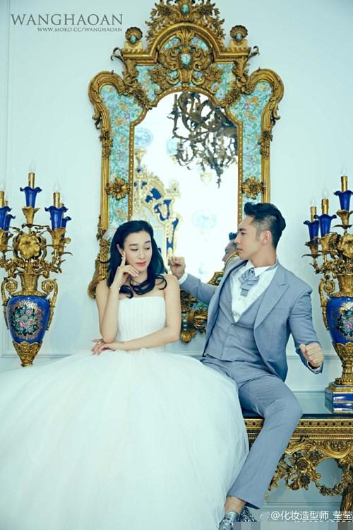 """Ảnh cưới lung linh của """"bom sex gốc Việt"""" với chồng kém 12 tuổi - 3"""